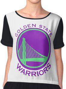 golden state warriors Chiffon Top