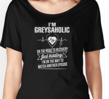 Grey's Anatomy - I'm Greysaholic Women's Relaxed Fit T-Shirt