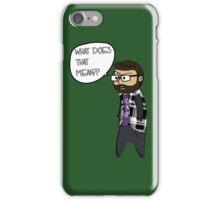 Flick the Ben iPhone Case/Skin