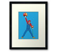 Mario Mercury Framed Print