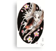 ryukin watercolor Canvas Print