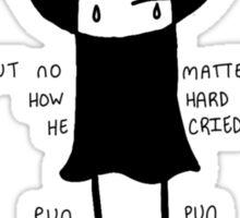 punpun (with words) Sticker