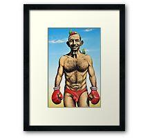 """""""The Budgie Smuggler"""" Framed Print"""