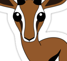 Gazelle Sticker