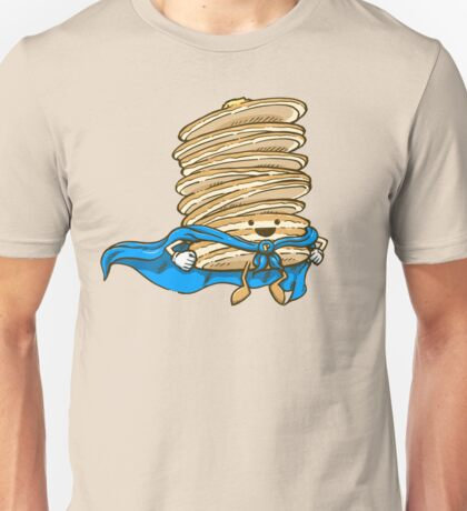 Captain Pancake Descends! Unisex T-Shirt