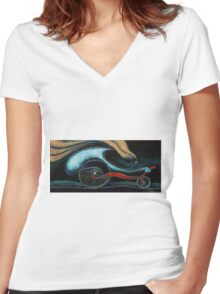 Cilista 2 Women's Fitted V-Neck T-Shirt