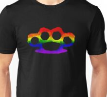 Rainbow Brass Knuckles Unisex T-Shirt