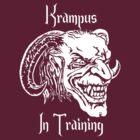 Krampus in Training by MNKrampus