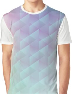 Geometric Sunrise Graphic T-Shirt