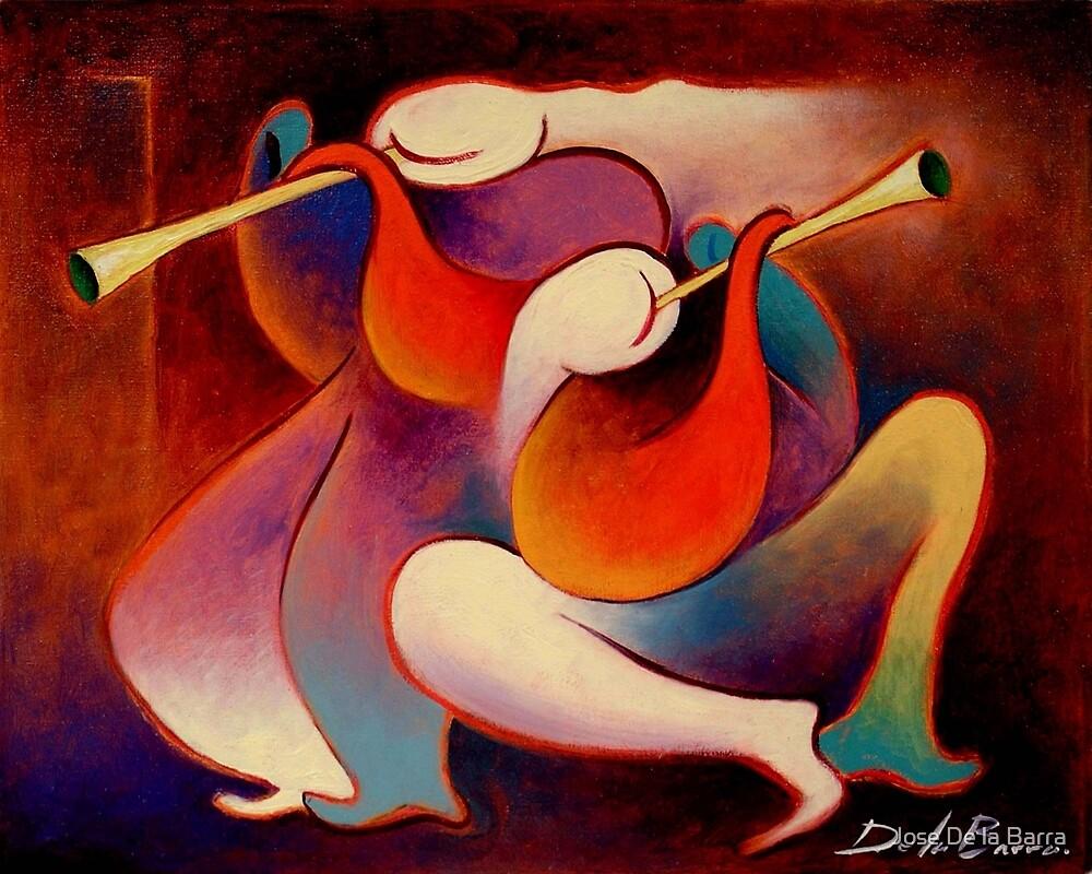 Trompetistas 2 by Jose De la Barra