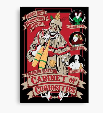 Twistus Circus Canvas Print