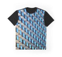 Blue Boxes Graphic T-Shirt