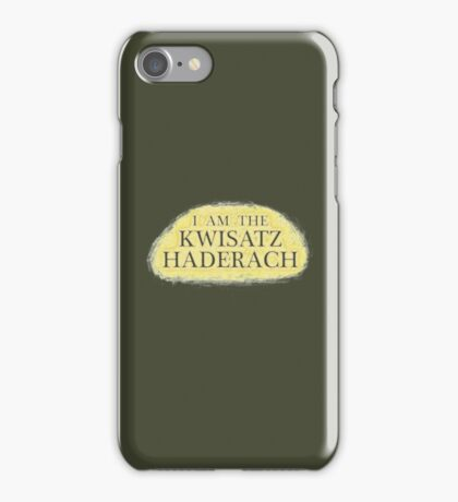 I Am The Kwisatz Haderach iPhone Case/Skin