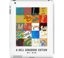Hell Songbook Edition Complete # 1-20 iPad Case/Skin