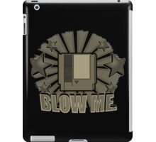 blow the cartridge iPad Case/Skin