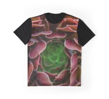 Inside the Succulent  Graphic T-Shirt