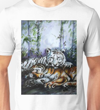 Tigers! Mother and Child Unisex T-Shirt