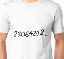 28:06:42:12 - This Is When The World Will End Unisex T-Shirt