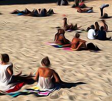 At the Beach, Gold Coast by Karen Duffy