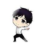 Yuri!!! on Ice Chibi Yuuri 1  by lovelyzen
