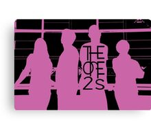 The One2s Silhouette  Canvas Print