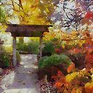 Japanese Garden in Autumn by shutterbug2010