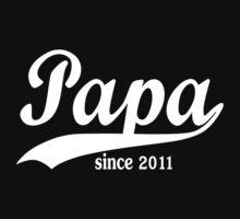 Papa 2011 Kids Tee