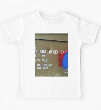 Army Ammo Box Graphic Shirt Kids Tee
