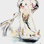 Hippo 2 by lizdomett