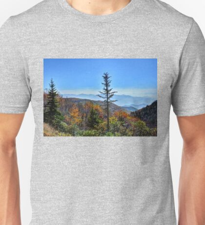 Fall in the Great Smoky Mountains Unisex T-Shirt