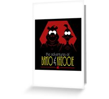 The Adventures of Banjo & Kazooie Greeting Card