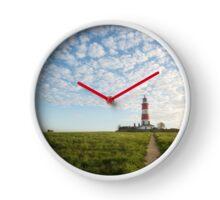Happisburgh Lighthouse, Norfolk, UK. Clock