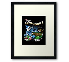 Regular Cereal Framed Print