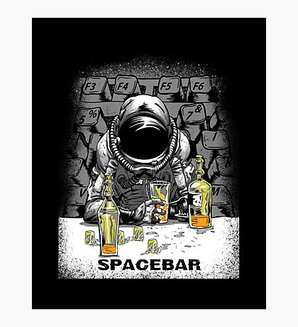 spacebar Photographic Print