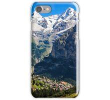 Jungfrau Region, Switzerland iPhone Case/Skin