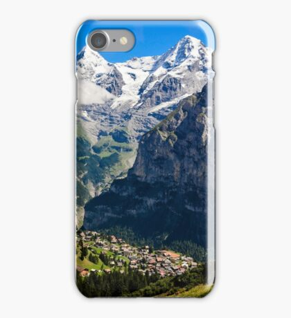 Jungfrau Region, Switzerland iPhone Case/Skin