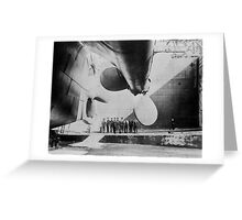 Titanic In Dry Dock - May 31, 1911 Greeting Card