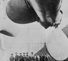 Titanic In Dry Dock - May 31, 1911 Sticker