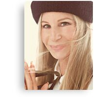 #BarbraStreisand: Defining Beauty at 74 Canvas Print