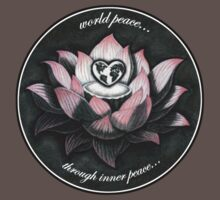 World Peace, Through Inner Peace T-Shirt