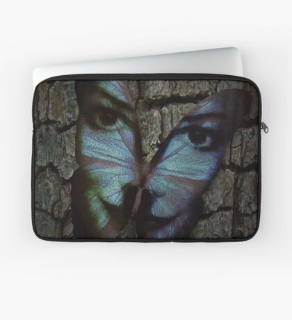 Am I A Butterfly Who Dreams About Being A Human? Laptop Sleeve