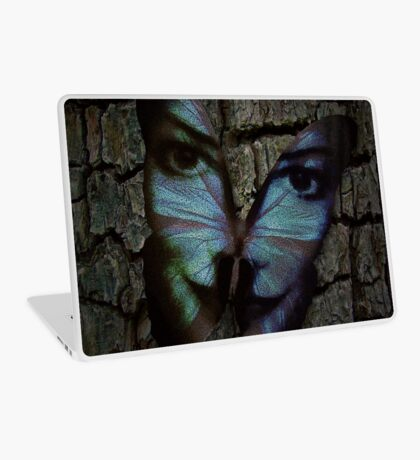 Am I A Butterfly Who Dreams About Being A Human? Laptop Skin