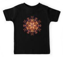 Centering Meditation Focus -  Energetic Geometry Symbolic Healing Mandala. Kids Tee