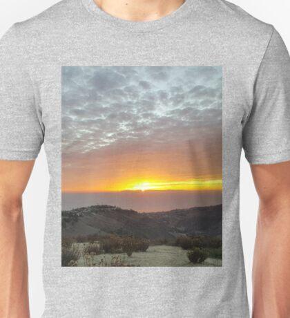 The Alpenglow of Sunset Unisex T-Shirt