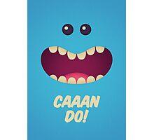 Mr. Meeseeks - Caaan Do! Photographic Print