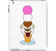 I Am Cool, I Am The Breeze. I Am The Ice Cream Bear iPad Case/Skin