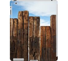 View of the Fence iPad Case/Skin