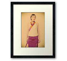 lustre  Framed Print