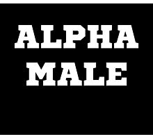 Alpha Male Photographic Print