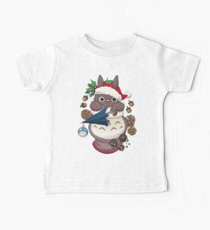 Totoro's Christmas Baby Tee